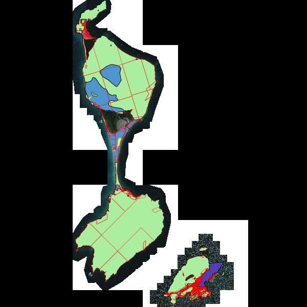 Carte de la classification des zones soumises au Schéma Territorial d'Aménagement et d'Urbanisme de Saint-Pierre et Miquelon