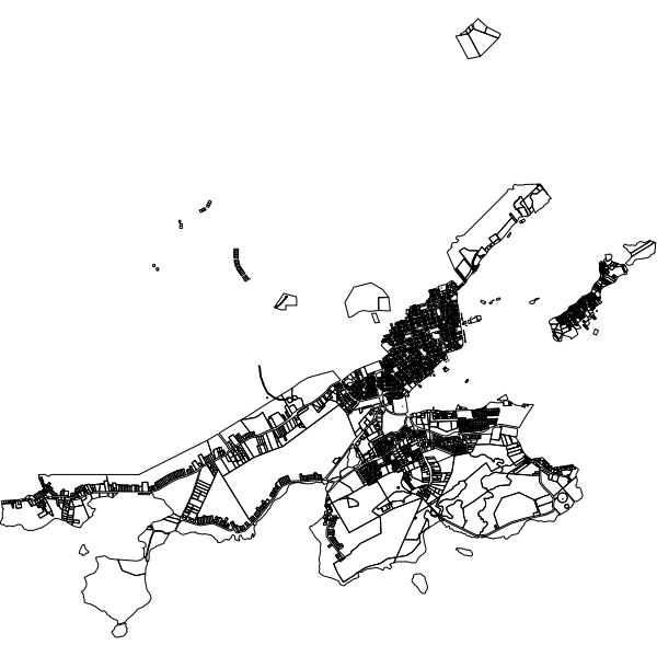 cadastre de Saint-Pierre