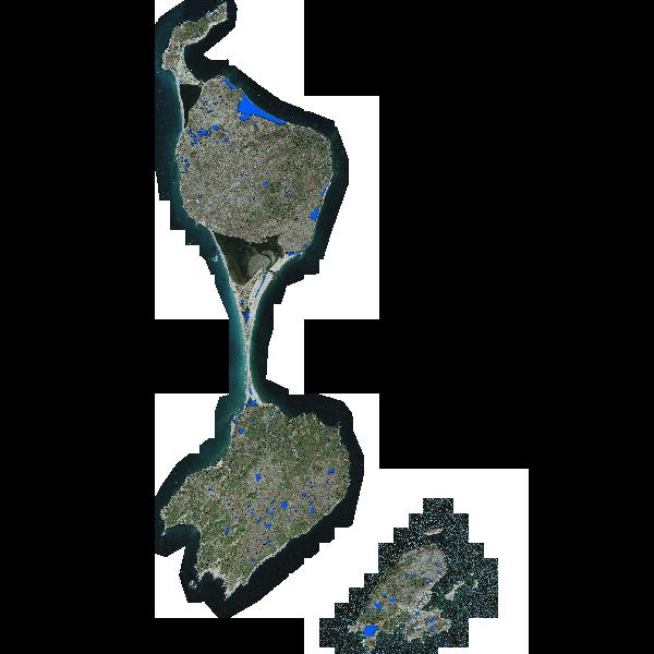 Surface en eau à Saint-Pierre et Miquelon